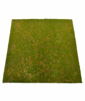 Alfombra de musgo artificial 100 x 100 cm - verde