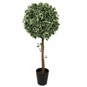 Árbol artificial Ficus redondo 130 cm