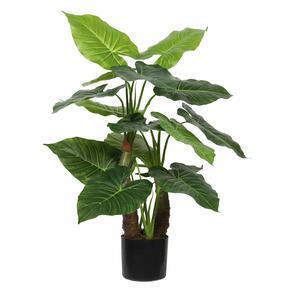 Árbol artificial Taro Araceae 80 cm