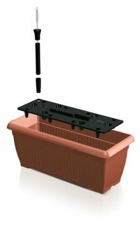 BALCÓN BOTE Caja 60 cm + sistema de riego
