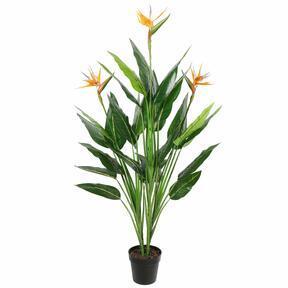 Brote de plantas artificiales floreciendo 150 cm