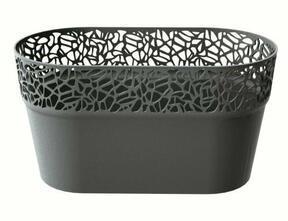 Caja de encaje NATURO grafito 27,5 cm