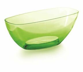 Cuenco COUBI ORCHID verde transparente 36.0 cm