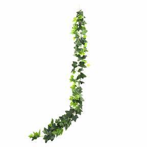 Guirnalda artificial verde hiedra 190 cm