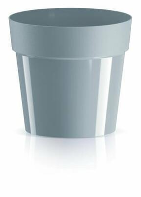 Maceta CUBE BASIC gris claro 19,9 cm