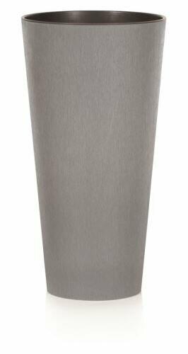 Maceta TUBUS SLIM CONCRETE gris 15cm
