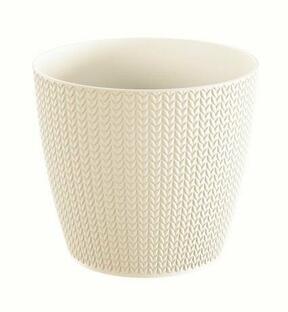 Maceta WHEATY cream 15,7 cm