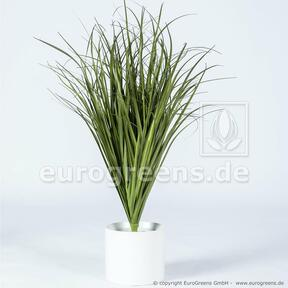 Manojo de hierba ranurado artificial Caña común 80 cm