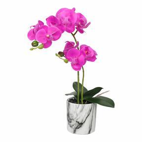 Orquídea artificial ciclamen 49 cm