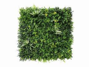Panel de flores artificiales Mix - 100x100 cm
