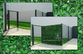 Panel de hoja artificial Cerezo - 50x50cm