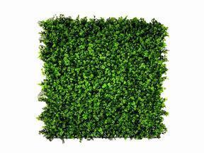Panel de hoja artificial Clover - 50x50 cm