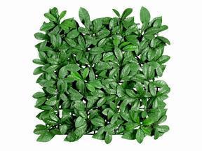 Panel de hoja artificial Laurel - 50x50 cm