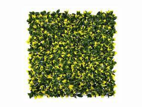 Panel de hoja caduca artificial Acebo - 50x50 cm