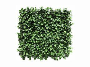 Panel de hojas artificiales Gardenia - 50x50 cm