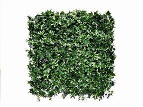 Panel de hojas artificiales Ivy - 50x50 cm