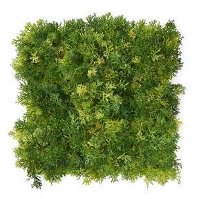 Panel de musgo verde claro artificial - 25x25 cm