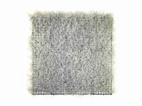 Panel de plata artificial Calocephalus - 50x50 cm