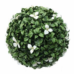 Pelota artificial Gradenia blanca 45 cm
