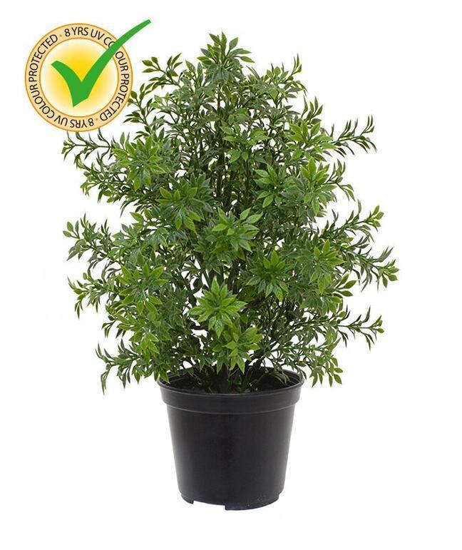 Planta artificial de eucalipto 30 cm