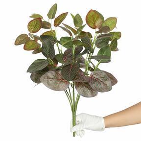Planta artificial Fitonia roja 45 cm