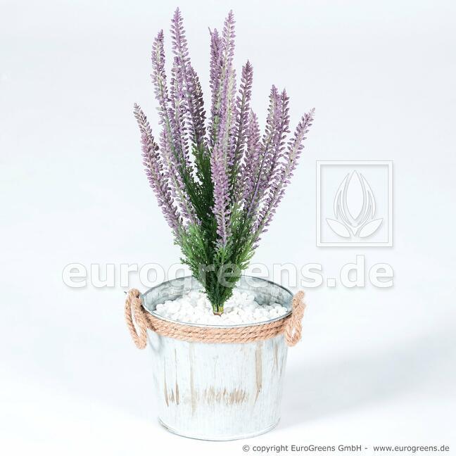 Planta artificial Heather violeta 38 cm