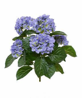 Planta artificial Hortensia azul 40 cm