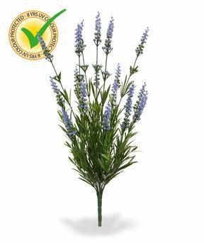 Planta artificial Lavanda azul 50 cm