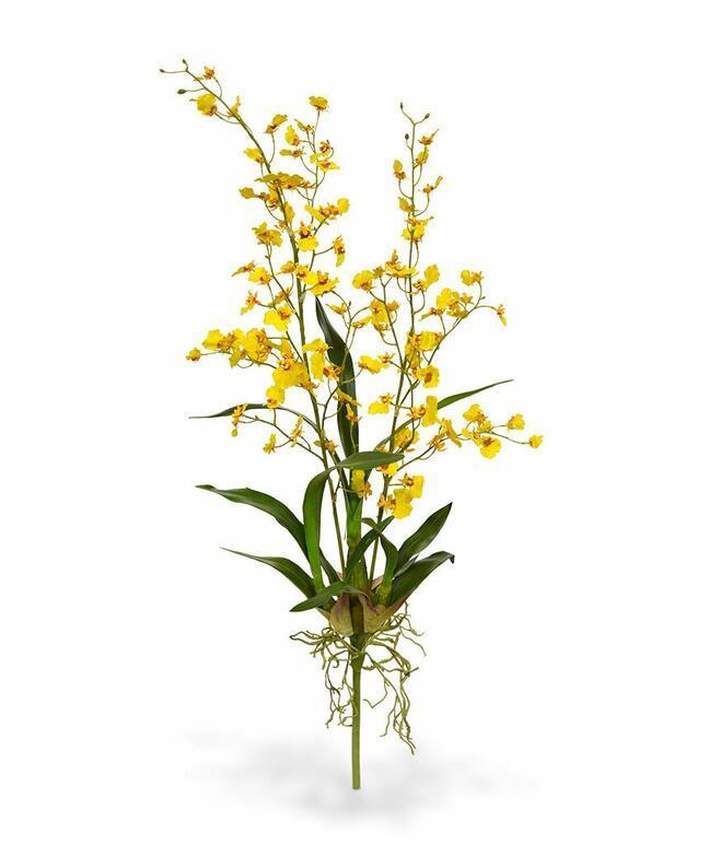 Planta artificial Orchidea Oncídium 80 cm