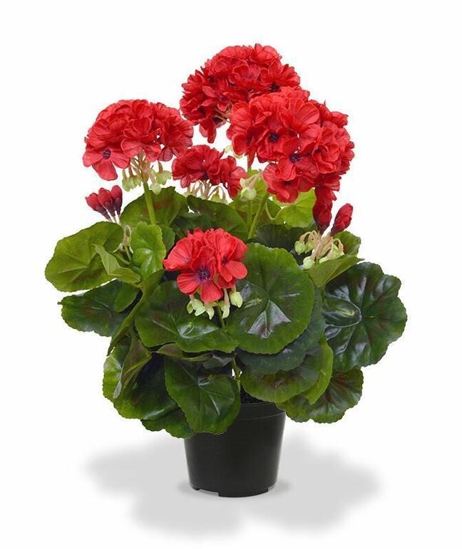 Planta artificial Pakost rojo 40 cm