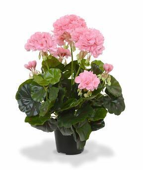 Planta artificial Pakost rosa 40 cm