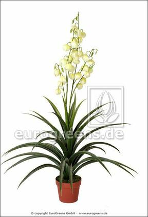 Planta artificial Yucca hermosa 125 cm
