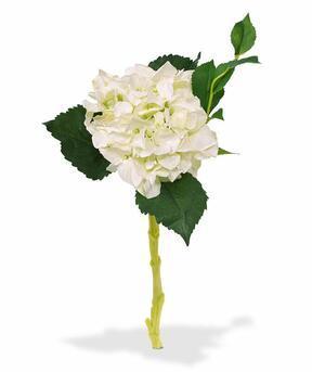 Rama artificial Hortensia blanca 38 cm