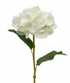 Rama artificial Hortensia crema 45 cm