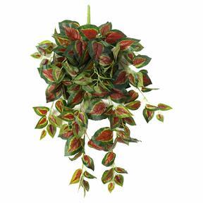 Zarcillo artificial Albahaca roja 80 cm