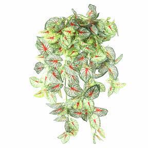 Zarcillo artificial de color Calladium 80 cm