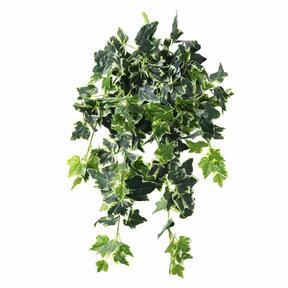 Zarcillo artificial Ivy blanco-verde 80 cm