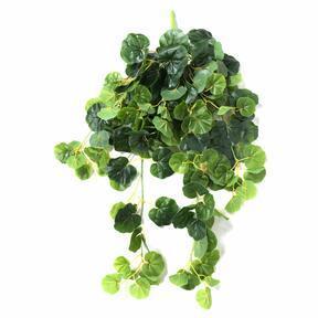Zarcillo artificial verde geranio 80 cm