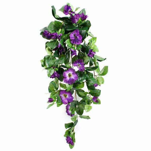 Zarcillo de Petunia Artificial violeta 80 cm